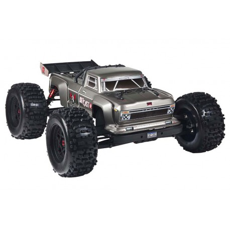 ARRMA OUTCAST 6S BLX 4WD 1/8 STUNT TRUCK RTR SILVER