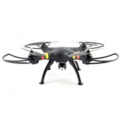 SYMA X8C 2.4G QUADCOPTER DRONE W/HD CAMERA - MATT BLACK