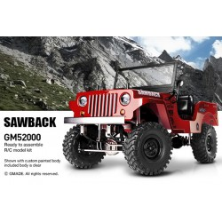 GMADE GS01 SAWBACK 4WD 1/10 SCALE ROCK CRAWLER KIT