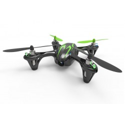 Hubsan X4 LED Mini Quad Copter RTF with Camera Recording & 2.4Ghz Radio System - Black/Green
